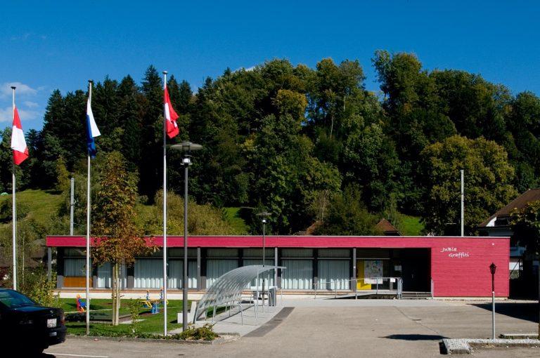 Jugendpavillon, Aussenansicht