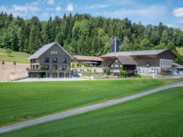Wohnhaus Willmann, Menznau, Aussenansicht