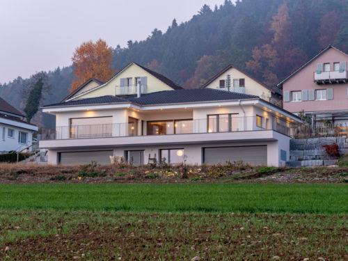 EFH Vogel, Egolzwil, Aussenansicht