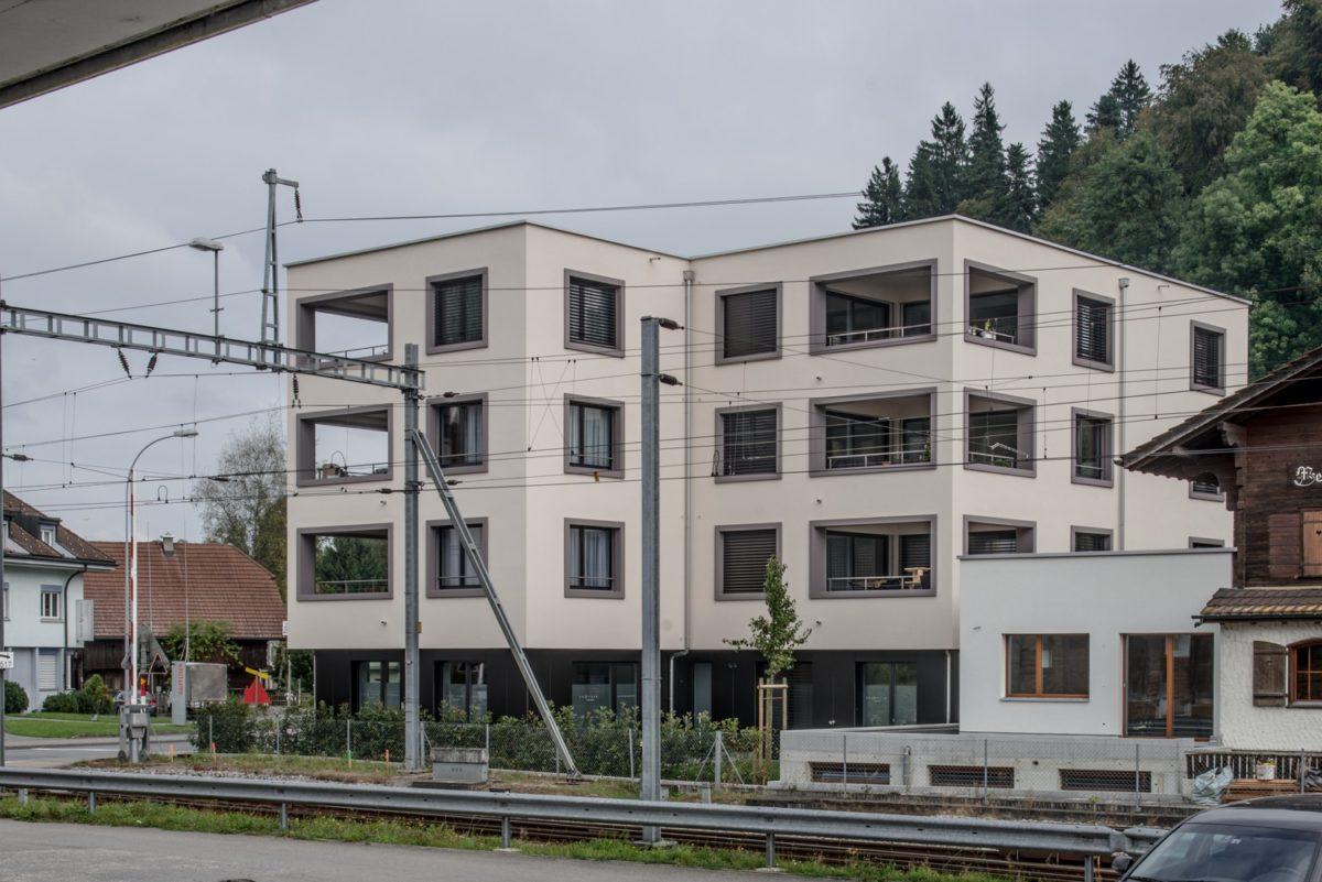 MFH Kirchgemeinde Menznau, Aussenansicht