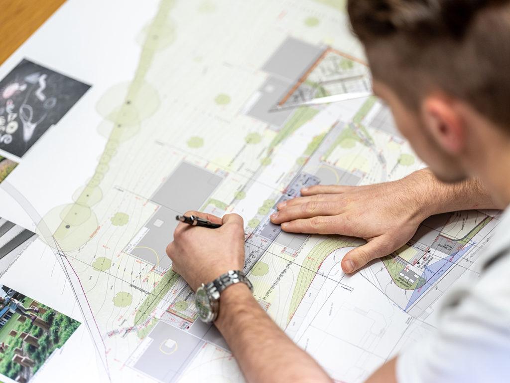 Gestaltungspläne Kurmann Architekten, Menznau