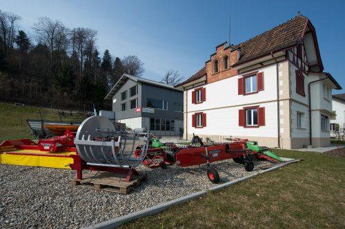 Sanierung Altbau Erni, Aussenansicht