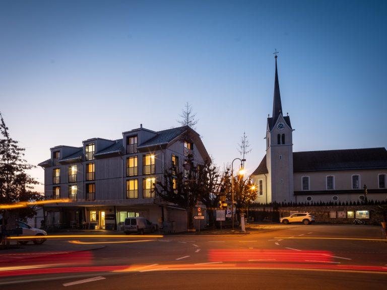 Umbau Neubau Stampfli, Aussenansicht