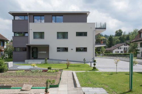 MFH Stöckli, Aussenansicht