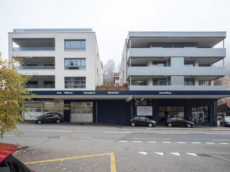 Sport-Garage Bigler GmbH, Aussenansicht
